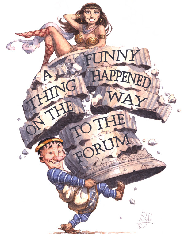 A Funny Thing Happened on the Way to the Forum!