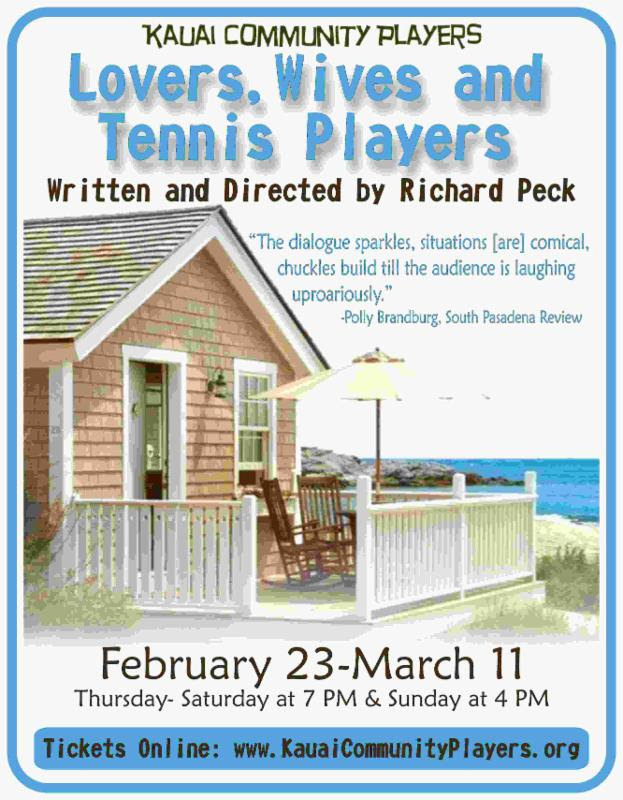 Lovers, Wives and Tennis Players!
